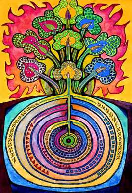 Art by David Friedman order from http://www.kosmic-kabbalah.com/pages/silkscreen_prints_the_tree_of_life.htm